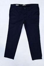 Marlboro RUGGED REFINED CHINO PANTS BLUE JEANS SLIM FIT REGULAR EU 60 XXXL W44