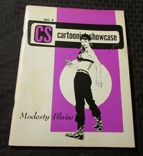 1968 Cartoonist Showcase #4 Fn+ Fanzine Modesty Blaise Jomes Bond 007