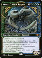 Magic the Gathering (mtg): KHM: Koma, Cosmos Serpent - Mythic - Showcase