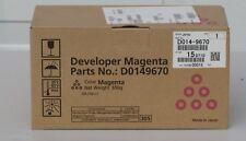 NEW RICOH D0149670 (D014-9670) MAGENTA DEVELOPER FACTORY SEALED