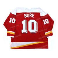 Retro 2016 Pavel Bure #10 Team Russia CCCP Hockey Jerseys Stitched Custom Names