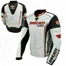 Ducati Corse Motorcycle Leather Jacket Sports Motorbike Leather Jackets