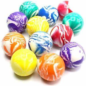 50 Flummi Groß Flummis 40-42 mm Springball Gummi Hüpf Ball Spielzeug Mitgebsel