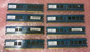 Nanya NT512T64U88A0BY-37B 4GB (8x512MB) PC2-4200 DDR2-non-ECC CL4 240P Memory