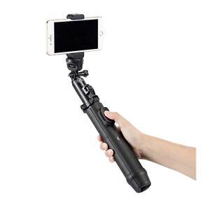 Sirui MS-01K Mobile Umbrella Tripod Selfie Stick & BT Remote / SmartPhone Clamp