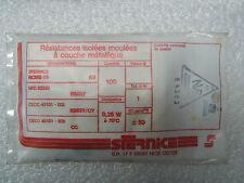 100 resistori RCMS05 RS63Y 1% 1/4W 50ppm 226k 226 k ohm Sfernice resistore