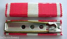 FRANCE: Agrafe rappel barrette DIXMUDE pour la croix de la valeur militaire.
