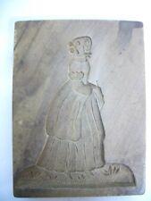 Uraltes Holzmodel, Backmodel, Springerlemodel um 1790