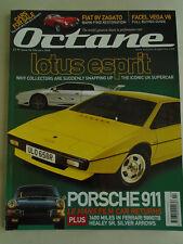 Octane No 56 Feb 2008 Lotus Esprit, Ferrari 599 GTB, Porsche 911, Fiat 8V