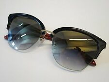 DITA Von Teese Paramour Black Red 18K Gold Grey Lens Glasses Eyewear Sunglasses