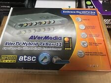 AverMedia AverTv Hybrid TVBox 11 New In Sealed Original Box