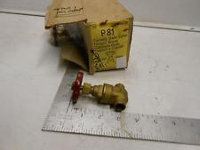 """T.G.M 3/8"""" Fullway Gate Valve Forged Brass Capillary Ends Copper x Copper"""
