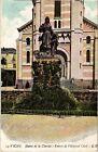 CPA Vichy-Statue de la Charité-Entrée de l'Hopital Civil (266864)