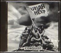 Uriah Heep - Conquest - CASTLE CD [14] (EX/EX) CLACD 208