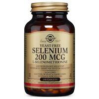 Solgar Yeast-Free Selenium 200 mcg 250 Tablets Made In USA, FREE US SHIPPING