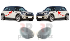 FOR MINI COOPER ONE CLUBMAN 07-15 WING MIRROR COVER CAP FOR PAINTING PAIR SET