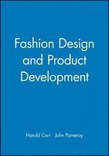 FASHION DESIGN AND PRODUCT DEVELOPMENT - NEW PAPERBACK BOOK
