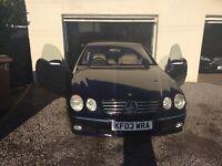 2003 Mercedes Cl500 5.0 V8 coupe