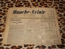 Journal MANCHE-ECLAIR, éd. du Sud de la Manche - n° 46, 16/11/1946