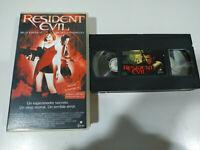 Resident Evil Milla Jovovich - VHS Cinta Castellano