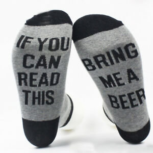 Wine socks If You can read this Bring Me a Glass of Wine/Coffee Men Socks Women