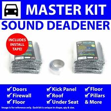 Heat & Sound Deadener Chevy Truck 1955 - 1959 Master Kit + Seam Tape 46800Cm2
