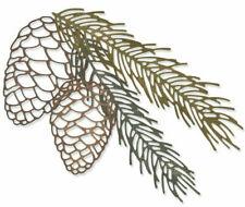 Sizzix Thinlits Dies by Tim Holtz 4pcs - Pine Branch 664228