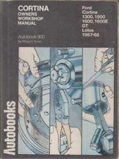 FORD CORTINA MK2 INCL 1600E & LOTUS 1967 - 1968 OWNERS WORKSHOP MANUAL