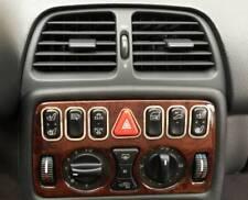 D Mercedes CLK W208 Chrom Rahmen für Schalterleiste - Edelstahl poliert