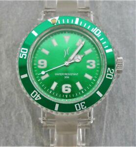 Armbanduhr,Unisex,Leuchtzeiger,Drehring,