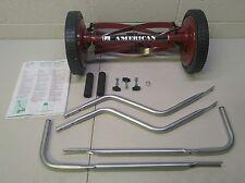 American Push Reel Lawn Mower 5-Blade Walk Behind Manual Lawnmower Grass Cutter