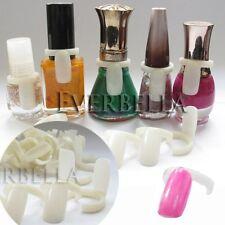 50 PCS Nail Art Ring Style Nail Tips Nail Polish Bottle Neck Color Display 54215