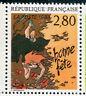 France - 1993, Stamp 2836, Bonne Fete C.Wending, Comics, Plaisir Typewriter, New