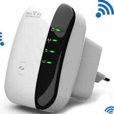 Amplificador Wifi 300Mbps Repetidor Inalámbrico Señal Extensor de Red Router