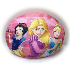 Disney Princess Forma Ovalado Peluche Cojín Rosa Dormitorio Infantil