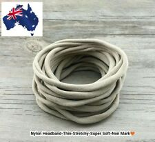 25pcs Nude Nylon Headband Super-Thin- Soft-Stretchy-AU Seller