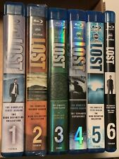 Lost Complete Series Seasons 1-6 Blu-ray Like New Free Shipping