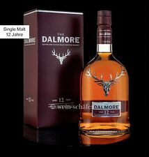 DALMORE 12 Jahre Single Malt Scotch Whisky 40% 0,7l Highlands Schottland