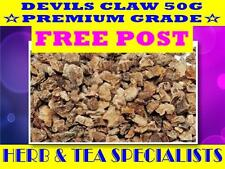 DEVILS CLAW 50G - Harpagophytum procumbens☆HERBAL☆ PREMIUM STOCK☆ FREE POST