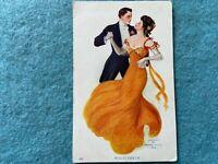 Waltz Dream Vintage Postcard