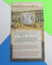 Official Silver Restrike 1780 Maria Theresa Taler Fact Sheet -- Free Shipping *