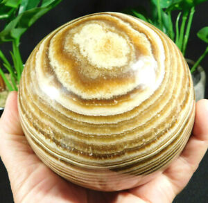A Huge! Aragonite Sphere with Very Contrasting Colors! From Morocco 2101gr