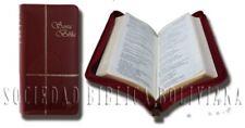 Santa Biblia Reina Valera 1960 con Cremallera RVR035XZ color Vino Tinto