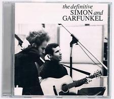 SIMON & AND  GARFUNKEL THE DEFINITIVE CD