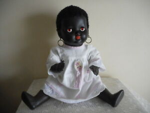 PALITOY  BLACK  POT  HEAD  DOLL  (MADE IN ENGLAND) FREE POSTAGE