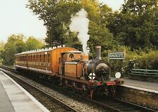 (91866) Postcard London Brighton South Coast Railway AIX Class No. 55 Kingscote