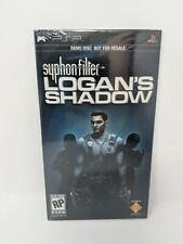 Syphon Filter PSP Logan's Shadow Demo Disc PlayStation Promo New Sealed VTG