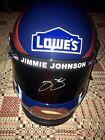 Jimmie Johnson signed autograph full size replica Superman helmet NASCAR 7x Jsa