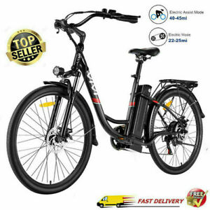 Elektrofahrrad E-Bike 26 Zoll Pedelec Fahrrad 350W/36V Motor Citybike 7/21Gang g