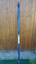 "VINTAGE SINGLE Ski 75"" Long With BLUE Finish Great for Decoration"